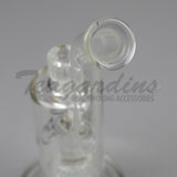 Delta 9 Glass - Zen Bubbler Matrix Perculator Scientific Glass