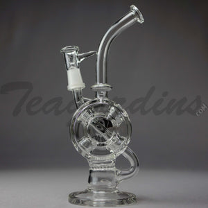 Diamond Glass - Incycler Oil Rig Recycler Bubbler
