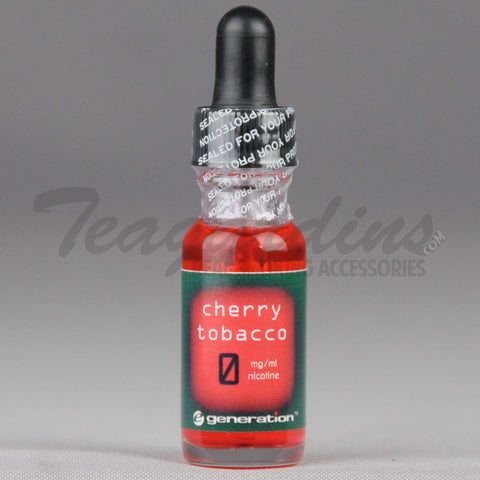 E-Generation 101 Bold E-Juice Cherry Tobacco Flavored
