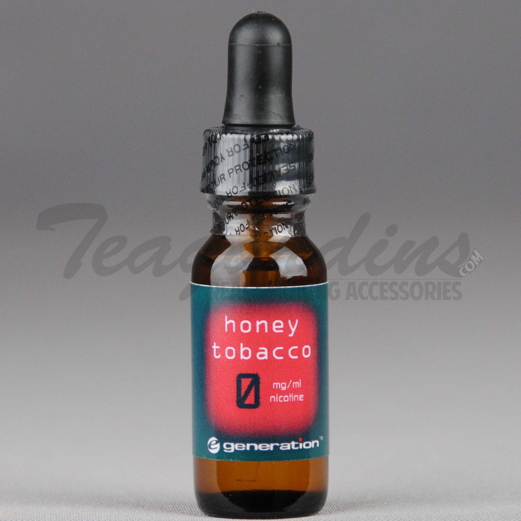E-Generation 101 Bold E-Juice Honey Tobacco Flavored