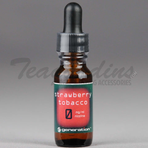 E-Generation 101 Bold E-Juice Strawberry Tobacco Flavored