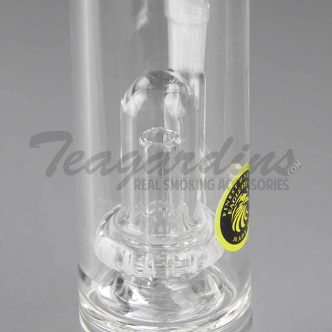 "Eagle Eye Glass - Bubbler - Stemless Straight Water Pipe - 5mm Thickness / 10"" Height"