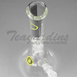 "Eagle Eye Glass 12"", 38mm Beaker Water Pipe With Tree Percolator"
