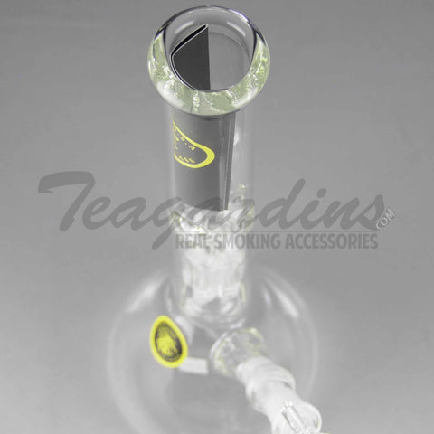 "Eagle Eye Glass - Double Chamber Tree Percolator Diffuser Downstem Beaker Water Pipe - 5mm Thickness / 12"" Height"