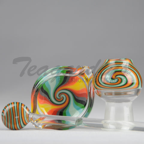 Elite Rip-Dish-Rastafari Dabber & Dome Set