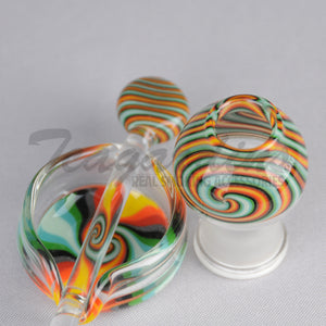 Elite Rip Dabber & Dome Set,Concentrate Tools,Oil Rigs,Titanium Nails,Quartz Nails