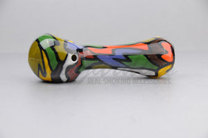 Firebrand Glass - Fully Worked Spoon Pipe