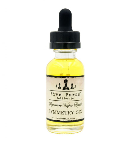 Five Pawns - California - Symmetry Six (Rhubarb Strawberry Graham Vanilla)