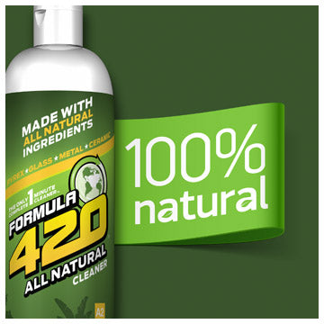 Formula 420 - Water Pipe Cleaning Solution - A2 - All Natural - 4oz