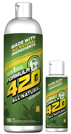 Formula 420 - Water Pipe Cleaning Solution - A2 - All Natural - 16oz
