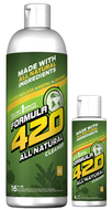 Formula 420 - Water Bong Glass Pipe Cleaning Solution - A2 - All Natural - 4oz For Sale