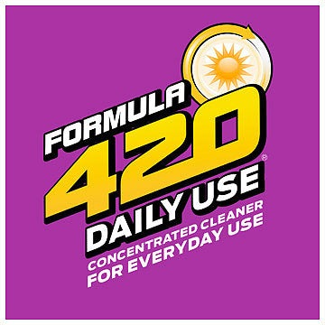 Formula 420 - Water Pipe Cleaning Solution - A3 - Daily Use - 16oz