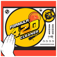 Load image into Gallery viewer, Formula 420 - Water Bong Glass Pipe Cleaning Solution - A1 - Original Cleaner - 2oz For Sale