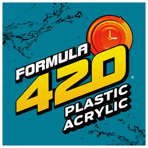 Formula 420 - Water Bong Glass Pipe Cleaning Solution - A4 - Plastic Acrylic - 4oz For Sale