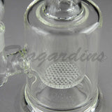 Teagardin's Glass - Stemless Water Pipe with HD Percolator and Splash Guard Cheap for Sale