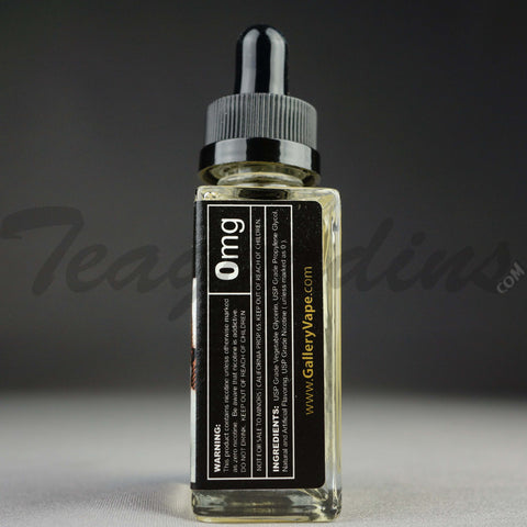 Gallery Vape E-Juice - Penthouse Dream (Sweet Savory Caramel Vanilla Bourbon Custard)