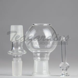 Glass on Glass Nail Dome Rig, Concentrate Tools, Domes and Nails, Dabbers