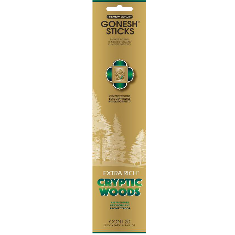 Gonesh - Incense Extra Rich Collection Cryptic Woods for sale