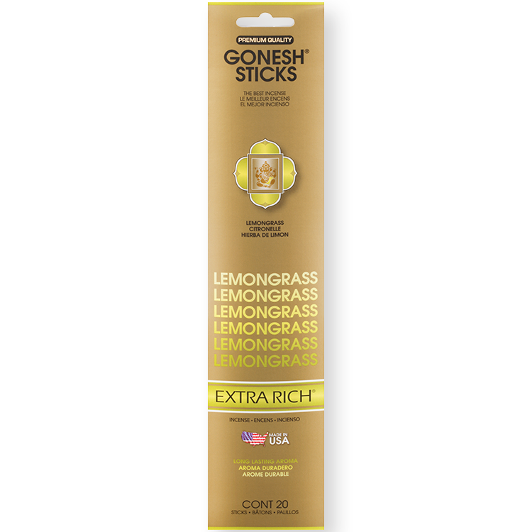 Gonesh - Incense Extra Rich Collection Lemongrass for sale
