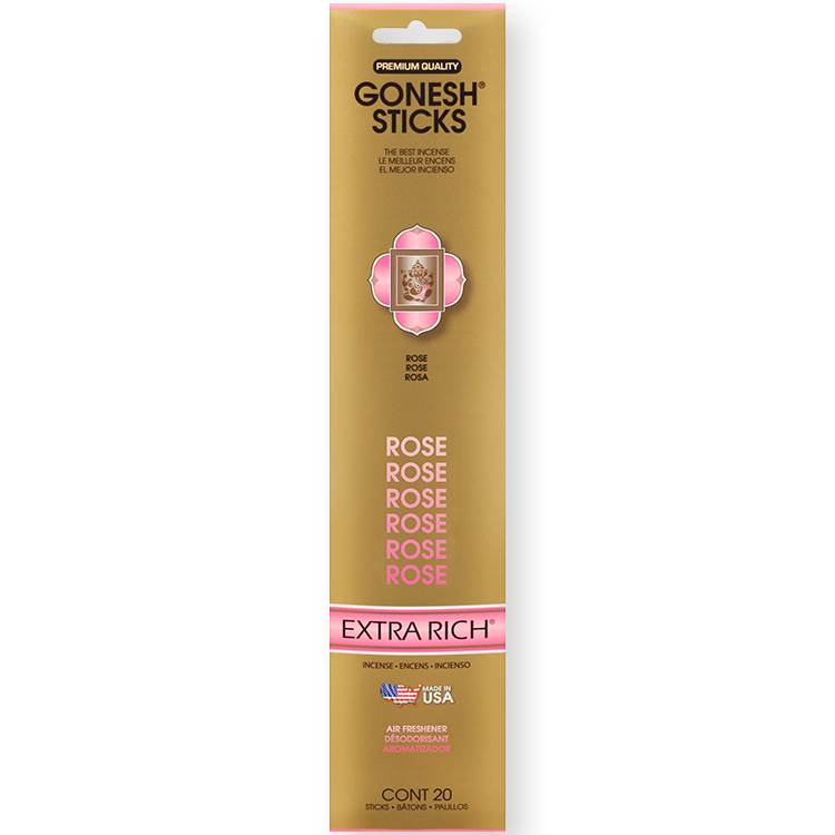 Gonesh - Incense Extra Rich Collection Rose for sale