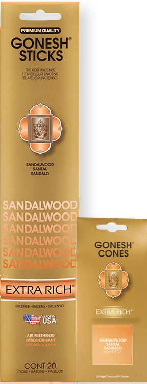 Gonesh - Incense Extra Rich Collection Sandalwood for sale