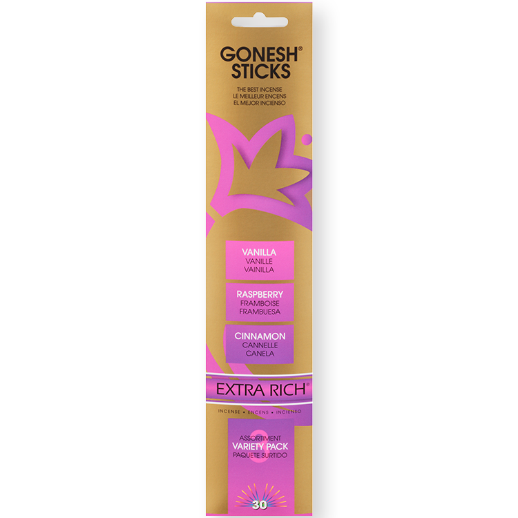 Gonesh - Incense Extra Rich Collection Variety Pack No. 3 for sale