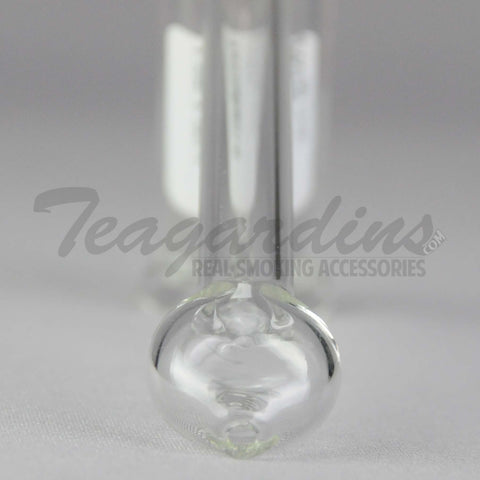 Grav Glass - Small Bubbler Red