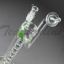 "Load image into Gallery viewer, Grav Glass - Upline Collabs - 6 Chamber Spine Stemless Straight Water Pipe - 4mm Thickness / 16"" Height"
