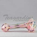 Greenlite Glass-Hand Pipes Glass Spoon Pipe Pink Bloppers