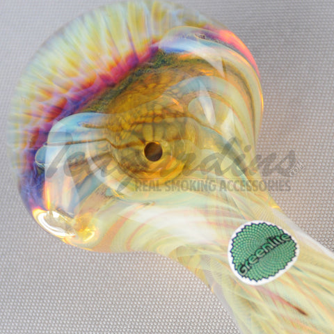 Greenlite Glass-Honey Front Spoon