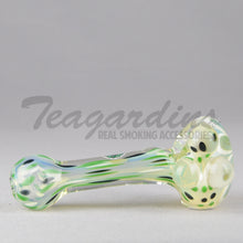 Load image into Gallery viewer, Greenlite Glass Hand Pipes Glass Spoon Pipe Bloopers