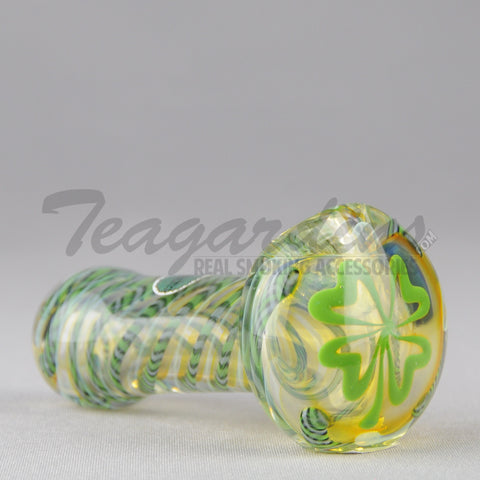 Greenlite Glass - Clover Spoon