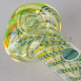 Greenlite Glass Hand Pipes Glass Spoon Pipe Green Clover