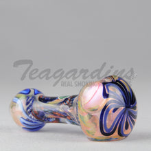 Load image into Gallery viewer, Greenlite Glass Hand Pipes Glass Spoon Pipe Flower in Head