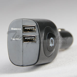Grenco Science-G Dual Car Cigarette Charger USB