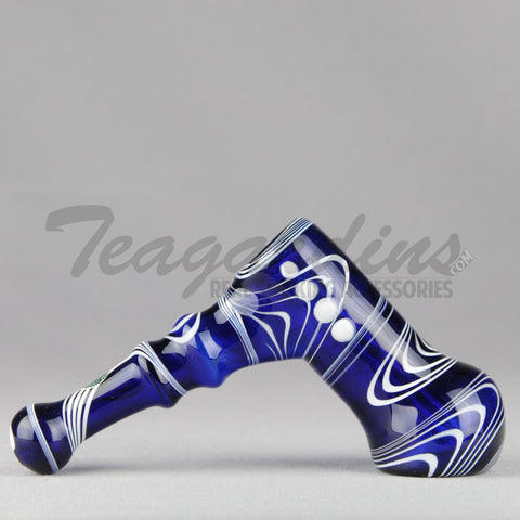 Greenlite Glass-Cobalt Blue Diffused Bubbler