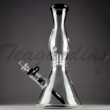 Load image into Gallery viewer, Helix Glass - Beaker Water Pipe Nano Black