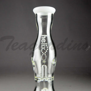 Helix Glass - Beaker Water Pipe Nano White