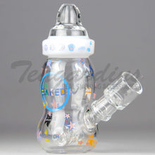 Load image into Gallery viewer, High Tech Glass - Hammer Head Baby Bottle Hitman CollaborationHigh Tech Glass - Hammer Head Baby Bottle Hitman Collaboration Oil Rigs Mini Tubes