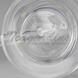 High Tech Glass C310 Small 10mm D.I. Bubbler Clear