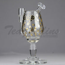 Load image into Gallery viewer, High Tech Glass Pimp Cup Oil Rig Bubbler