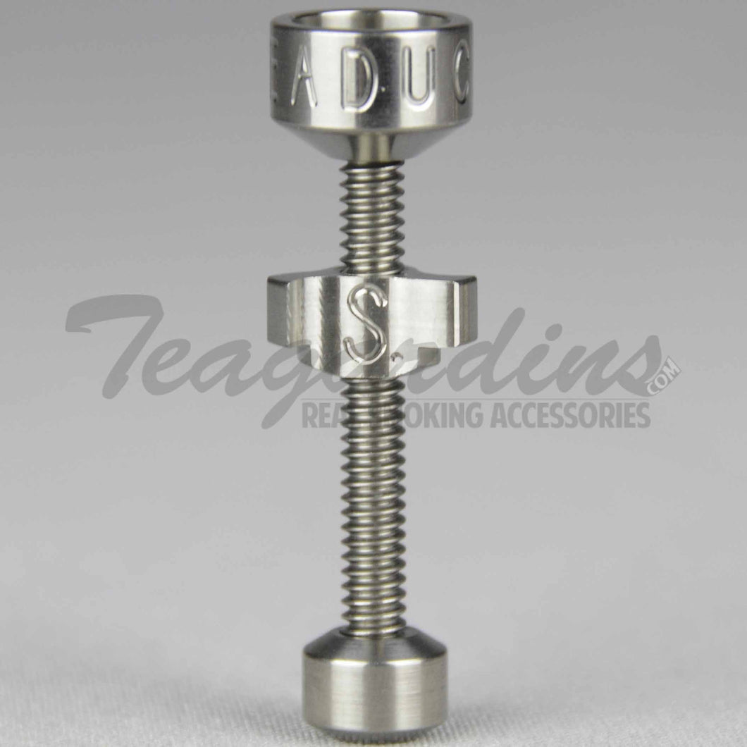 Highly Educated 18mm Titanium Nail