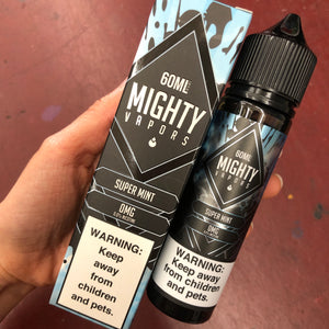 Mighty Vapors - Vape Juice Super Mint For Sale