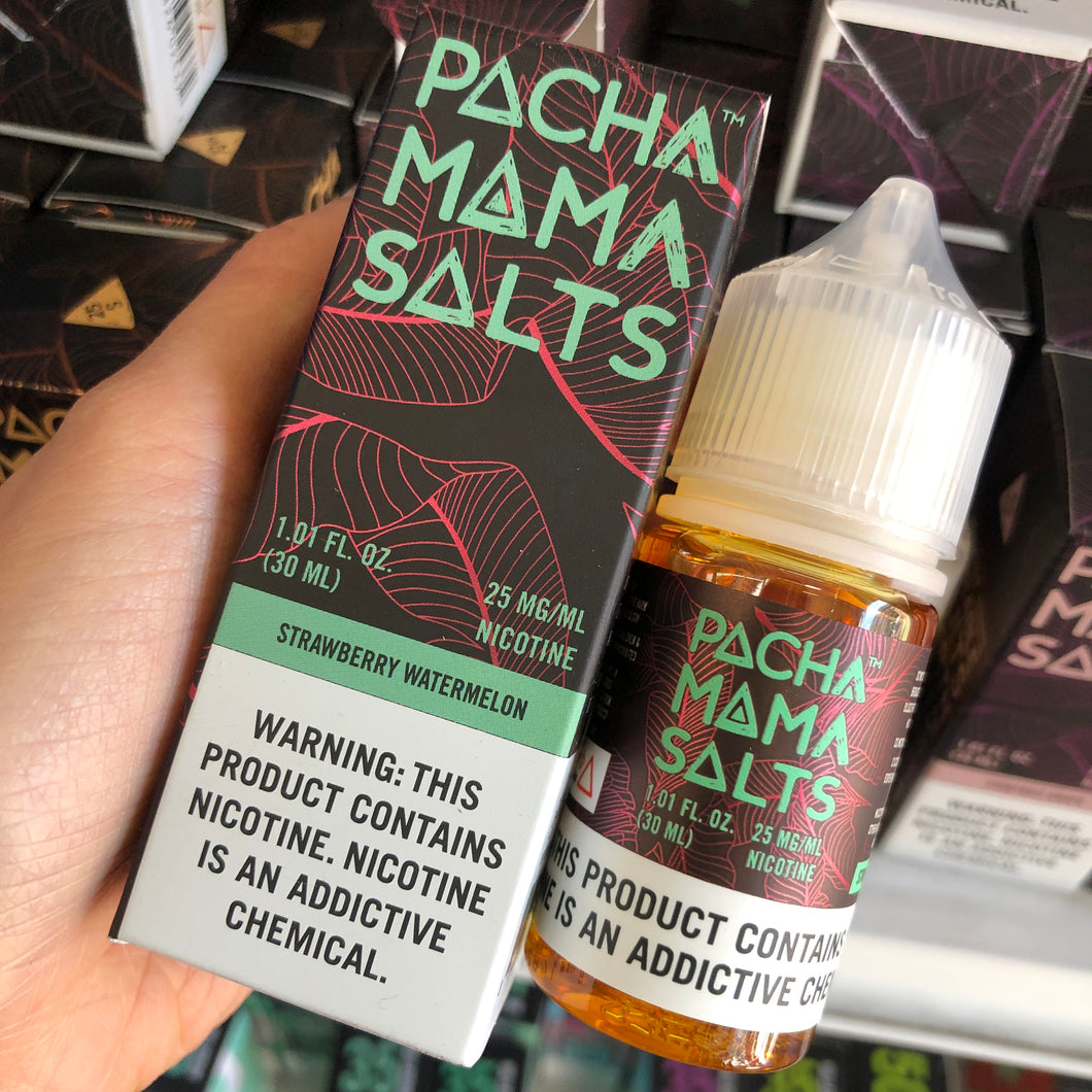 Pacha Mama Salts - Vape Juice Nic Salt Nicotine Strawberry Watermelon For Sale