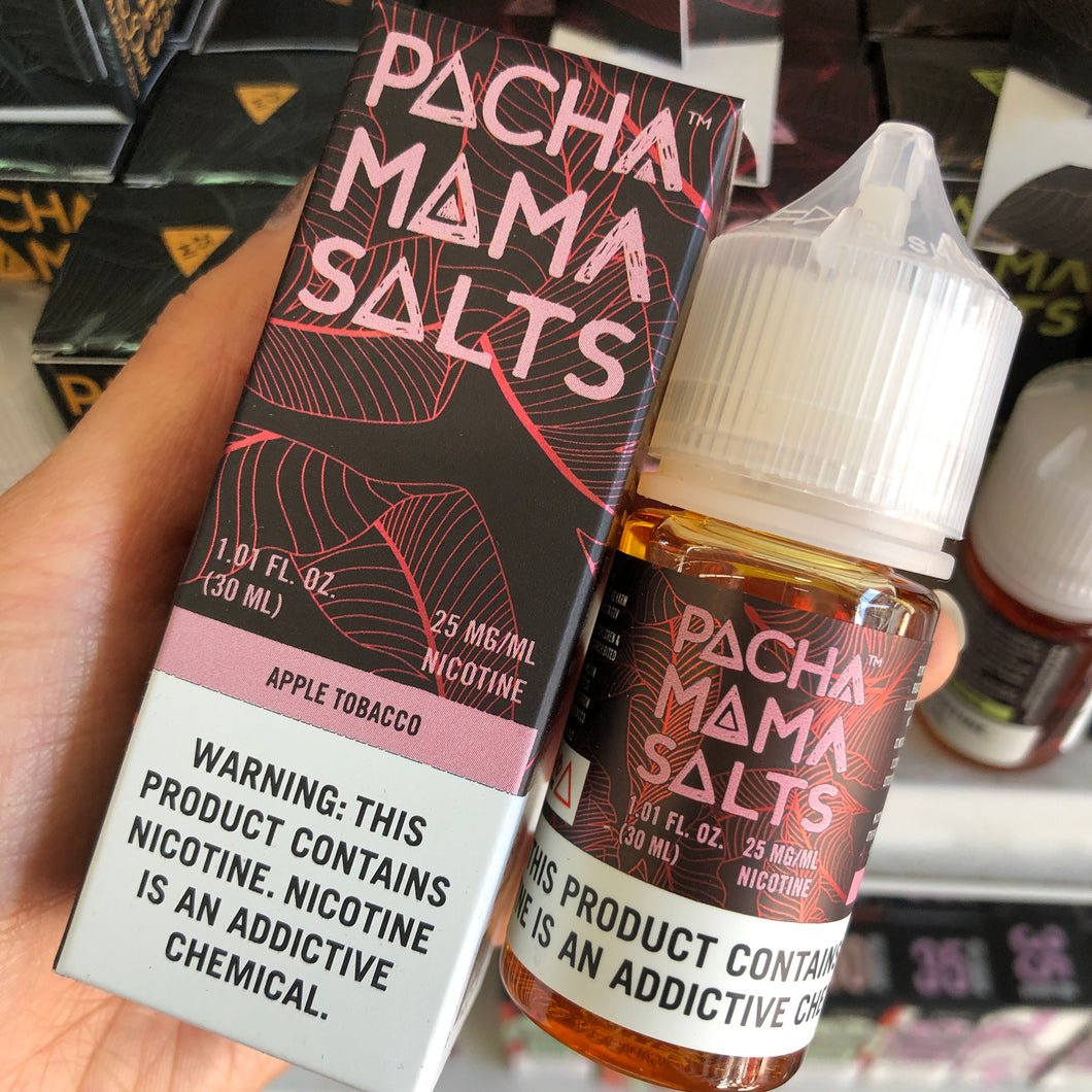 Pacha Mama Salts - Vape Juice Nic Salt Nicotine Apple Tobacco For Sale