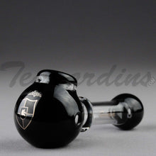 Load image into Gallery viewer, Illadelph Glass - Multi Holed Spoon Hand Pipe Black