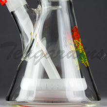 Load image into Gallery viewer, Illadelph Glass - Signature Series White Water Pipe Coil with Pyramid Percolator Coil