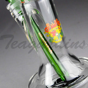"Illadelph Glass - Limited Edition Space Monkey Straight Water Pipe - Rasta - 5mm Thickness / 17"" Height Illadelph Glass - Limited Edition Space Monkey - Double Chamber Coil Percolator Showerhead Downstem Straight Water Pipe - Rasta - 5mm Thickness / 17"" HeightIlladelph Glass - Limited Edition Space Monkey - Double Chamber Coil Percolator Showerhead Downstem Straight Water Pipe - Rasta - 5mm Thickness / 17"" Height"