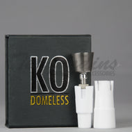K.O. Titanium Nail Universal  Domeless, Concentrates Tools, Dabbers, Dome, Oil Rigs, Titanium Nails, Quartz