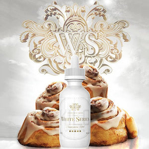 Best Price on Vape E-Juice Kilo - White Series - Cinnamon Roll